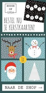 HOUSE OF LOLA | banner | kerst